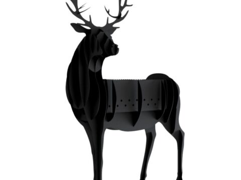 Barbecue BBQ Deer DXF File